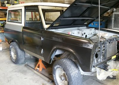 BroncoBob Early Ford Bronco Restoration Project in Progress