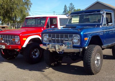 BroncoBob Early Ford Bronco Restoration - completed projects